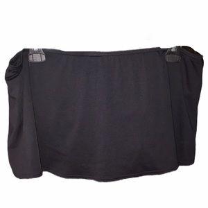 Coco Reef Black swim skirt